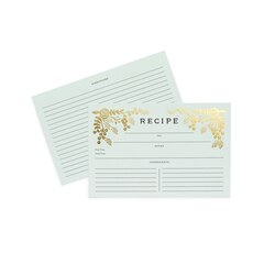 Rifle Paper Co. Golden Garden Recipe Cards
