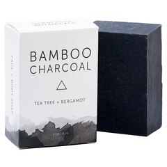 Bamboo Charcoal Cleansing Bar Soap