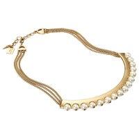 Jenny Bird Eclipse Collar Necklace - Gold