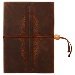 Emma Embossed Leather Journal