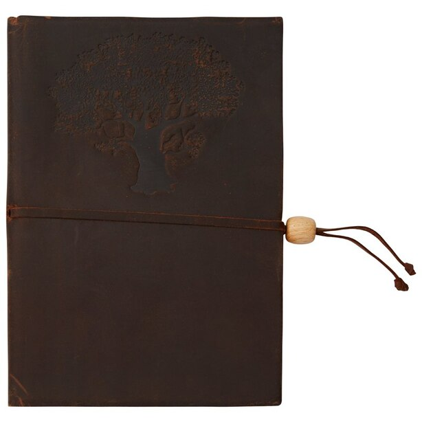 Olive Tree Leather Journal Unlined
