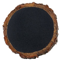 Chalkboard Wood Slice Napkin Ring