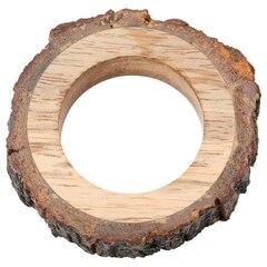 Anneau à serviette en bois