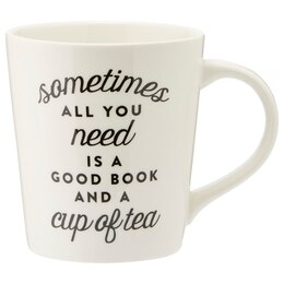 Good Book & Cup of Tea Mug
