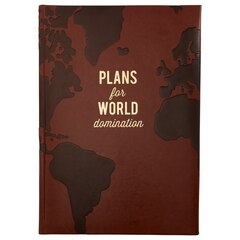 World Domination Embossed Journal