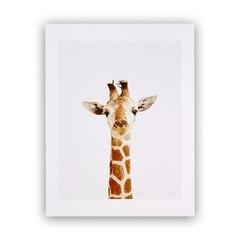 Baby Giraffe Little Darling Photographic Art Print – 8.5 x 11