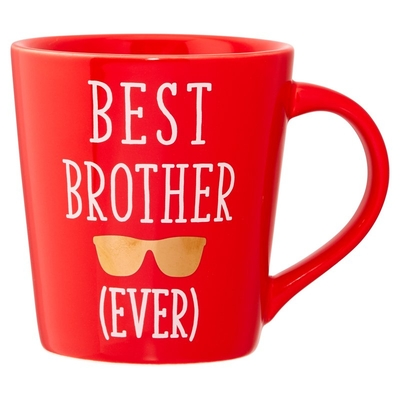 Expressions Mug Best Brother Ever By Indigo Novelty