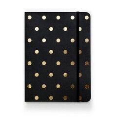 Sugar Paper Black Polka Dot Journal