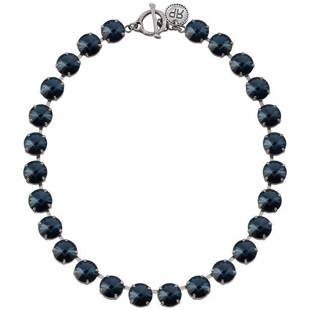 Rebekah Price® Montana Rivoli Necklace - Silver