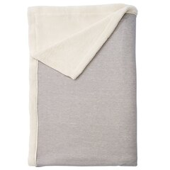 Heathered Jersey Stadium Throw – Grey