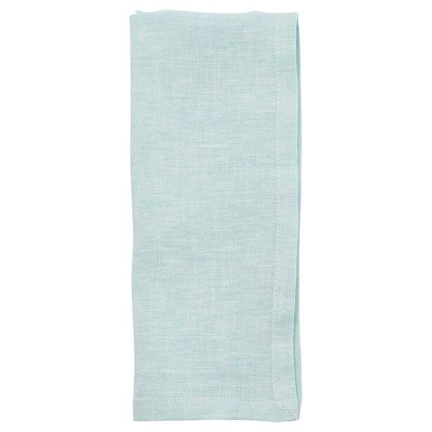 Washed Linen Napkins – Dusty Blue – Set of 4