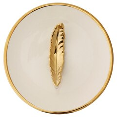 Feather Round Jewellery Tray