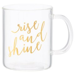 Glass Mug – Rise & Shine