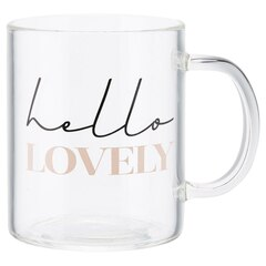 Tasse en verre – Hello Lovely