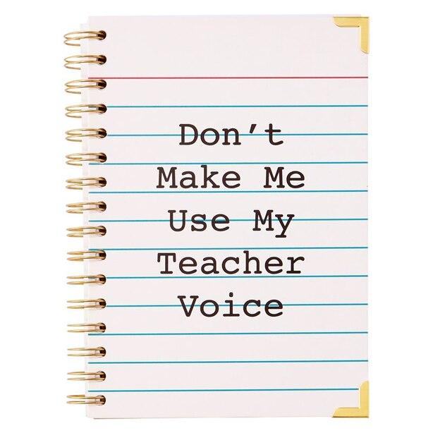 A5 SPIRAL NOTEBOOK - TEACHER VOICE