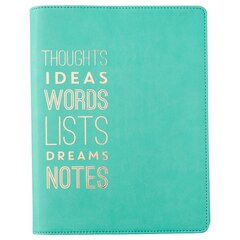 Refill Enclosed Spiral Journal - Thoughts Mint