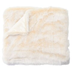 Faux Fur Throw – Off-White