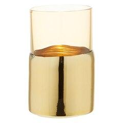 Mercury Gold & Amber Candleholder – Small