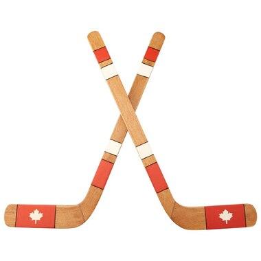 Canadian Hockey Sticks Wall Art By Indigo Wall Decor Gifts
