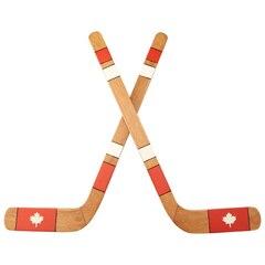 Canadian Hockey Sticks Wall Art