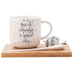 ENSEMBLE À THÉ SIMPLE —TEA IS ALWAYS A GOOD IDEA
