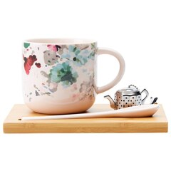 SIMPLE TEA SET – WINTER FLORAL