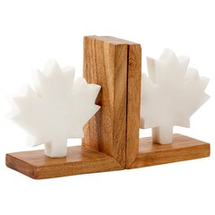 Maple Leaf Bookends – Set of 2