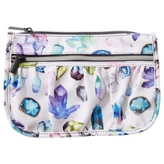 Front Pleated Gym Pouch - Crystals