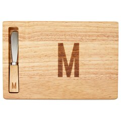 Monogram Cheeseboard and Spreader