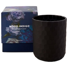 Mood Indigo Glass Candle – 12 oz.