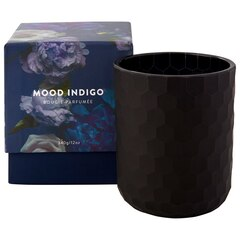 Mood Indigo Glass Candle – 12 oz.