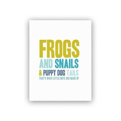 "Penny Paper Co.® ""Frogs and Snails"" Art Print - 8.5"" x 11"""