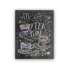 "Lily and Val® Always Time for Tea Art Print - 8"" x 10"""