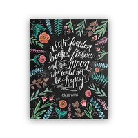 """Lily and Val® Freedom Books Oscar Wilde Art Print - 8"""" x 10"""""""