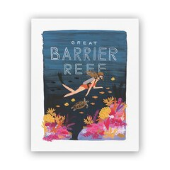 Reproduction Rifle Paper Co.® Great Barrier Reef – 8 x 10 po