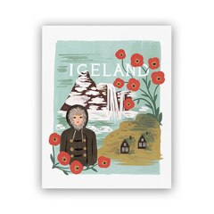 Reproduction Rifle Paper Co.® Iceland – 8 x 10