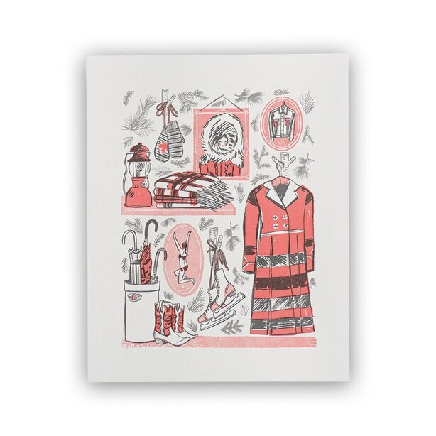 "Fashion Art Print by Katy Dockrill - 8"" X 10"""