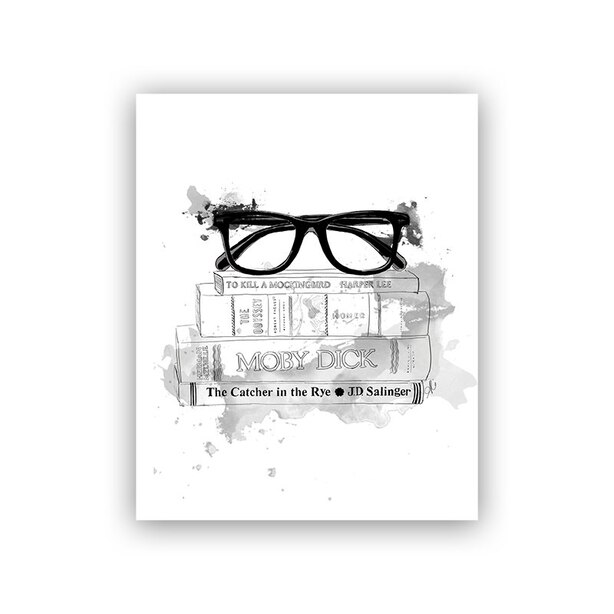 "Adam's Library Art Print® - 8"" x 10"""