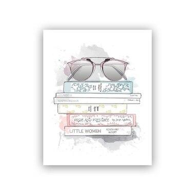 Amanda's Library Art Print® - 8
