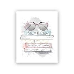 "Amanda's Library Art Print® - 8"" x 10"""