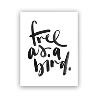 "Melo&Co.® Art Print - Free as a Bird, 8"" x 10"""