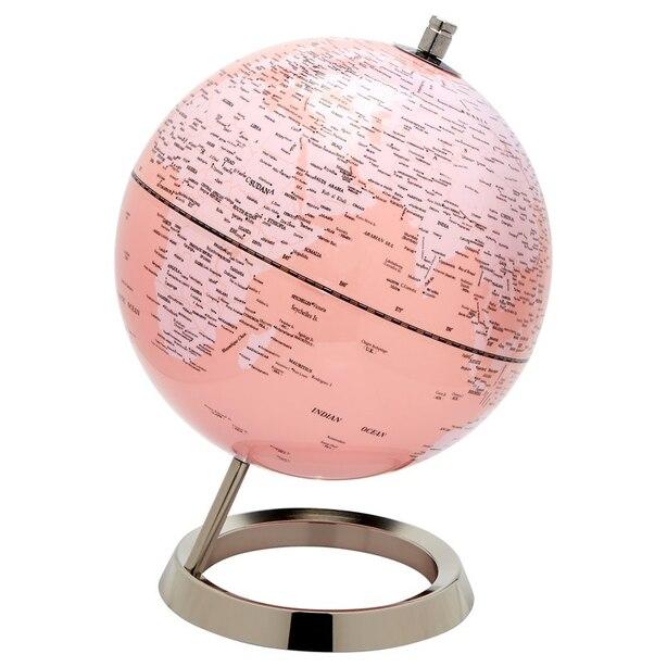 "Pink Globe - 8"""