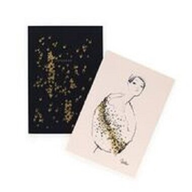 Rifle Paper Co. Leopard Set of 2 Notebooks
