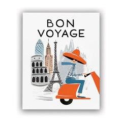 """Rifle Paper Co.® Bon Voyage Art Print - Bicycle Paris 8"""" x 10"""""""