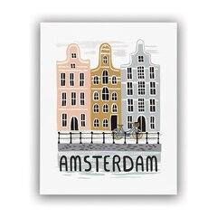 REPRODUCTION RIFLE PAPER CO.® BON VOYAGE –  Amsterdam, 8 X 10 PO