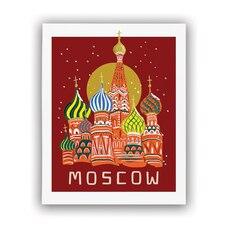 REPRODUCTION RIFLE PAPER CO.® BON VOYAGE –  Moscou, 8 X 10 PO