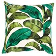 "Tropical Leaves Outdoor Pillow Cover – 18"" x 18"""