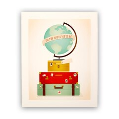 "Minted® Art Print - Oh, The Places You'll Go, 8"" x 10"""