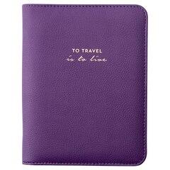 Mini Refill Crystal Journal - To Travel, Purple