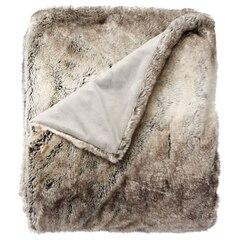 Faux Fur Throw – Silver Fox